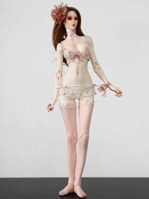 Antique Pink Lingerie Set_359478_01