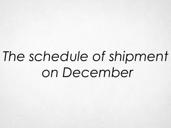 the-schedule-of-shipment-on-december_859573