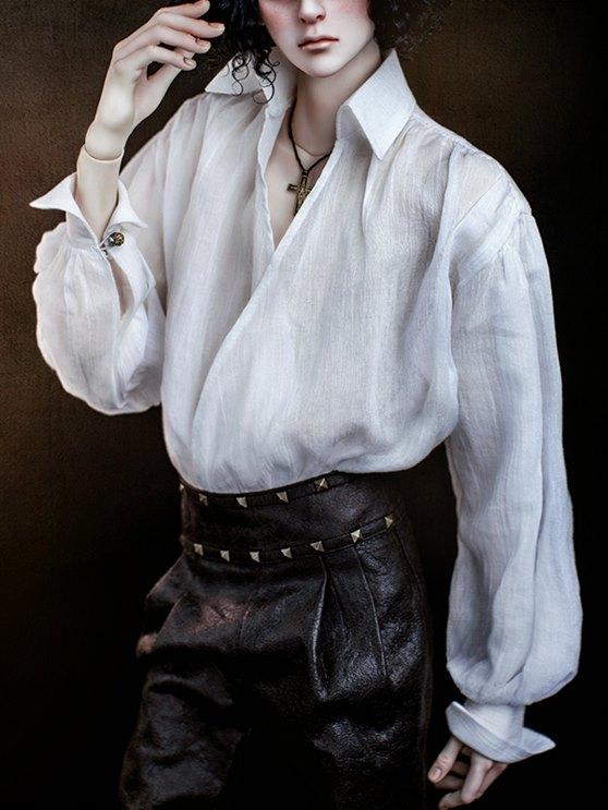 Classic Wrap Shirts(White)_558743